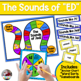 "Sounds of ""ed"" Board Game and Anchor Chart"