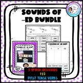 Sounds of -ed Bundle - Past Tense Verbs