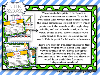 Sounds of the Letter I: Building Phonemic Awareness & Phonics Skills