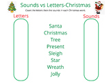 Sounds vs Letters-Christmas