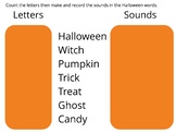 Sounds vs Letters-Halloween