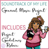 Soundtrack of My Life Poster or PowerPoint Project