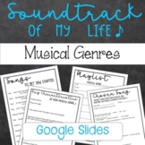 Soundtrack of my Life - Musical Genres Project