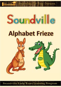 Soundville Alphabet Frieze