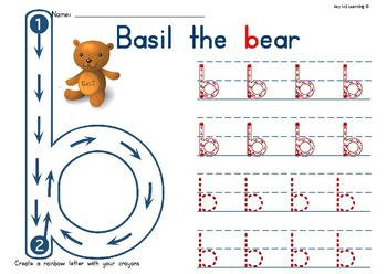 Soundville Early Years Handwriting Book - Lower Case
