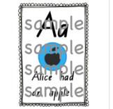Soundwaves Alphabet Posters (NSW Foundation Font)