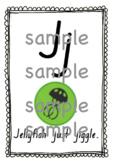 Soundwaves Alphabet Posters (NSW Foundation Font) (J-Z)