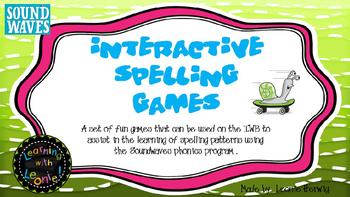Soundwaves IWB Spelling Activities - free