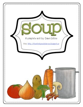 Soup Themed Math Unit