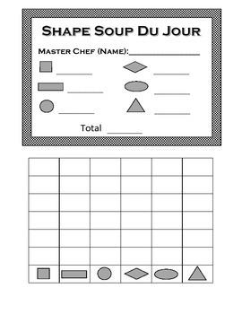 Soup du Jour: Count, Add and Graph with Shape Soup!