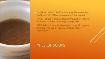 Soups Power Point