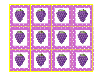 Sour Grapes Articulation Card Game