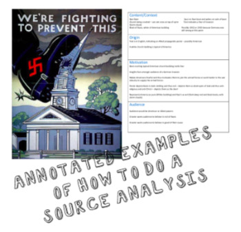 Source Analysis Skill - History - How to analyse a Primary/Secondary Source