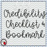 Source Credibility Checklist and Bookmark