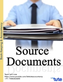 Accounts |Source Documents