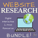 Credible and Reliable Sources Bundle | Google Drive Distan
