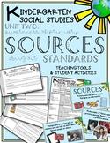 Kindergarten Social Studies Unit Primary Sources