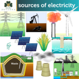 Sources Of Electricity Clip Art