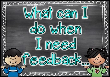 Sources Of Feedback {for students} - Chalkboard