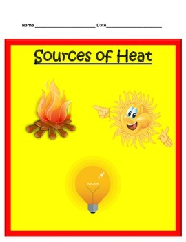 Sources and Effects of Heat STUDY GUIDE - 3rd Science