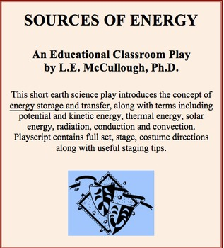 Sources of Energy - An Earth Science Play