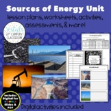 Sources of Energy {Digital & PDF Included}