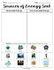 Sources of Energy Sort & Vocabulary Practice - VA Science