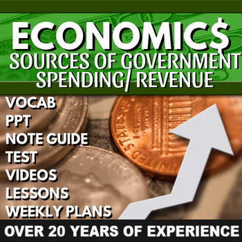 Sources of Government Revenue / Government Spending