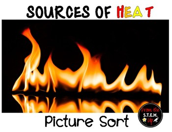 Sources of Heat Picture Sort