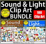 Sources of Light & Sound Waves Clip Art Energy 45% OFF the next 48 HRS