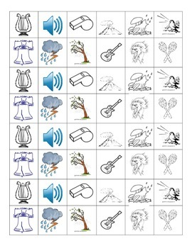 SOURCES OF SOUND: Foldable and Chart
