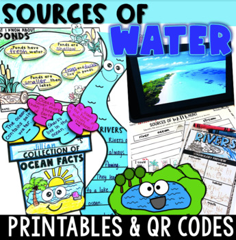Sources of Water ~ QR Code Hunt