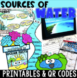 Sources of Water ~ QR Code Hunt {Digital Station & more!}
