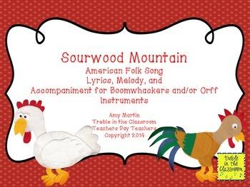 Sourwood Mountain Boomwhacker Set