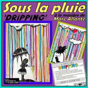 Automne: Arts plastiques: Sous la pluie, automne, plan de cours en français