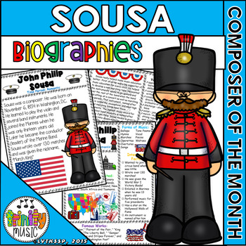 John Philip Sousa Biographies (Composer of the Month)