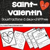 Saint-Valentin : Paquet Soustraction