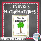 Soustraction:  Subtraction Themed Emergent Reader in French