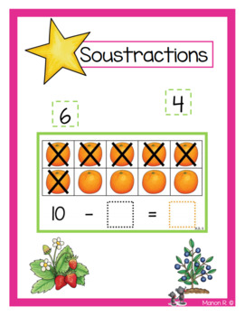 Soustractions (Fruits)
