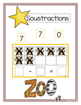 Soustractions (Zoo)