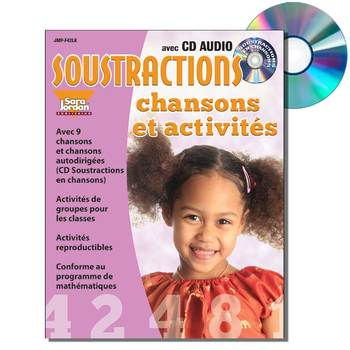 French Math (Subtraction) - Digital MP3 Album Download w/ Lyrics & Activities