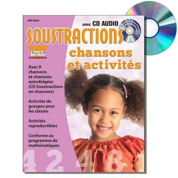 French Math (Subtraction) - Digital MP3 Album Download w/