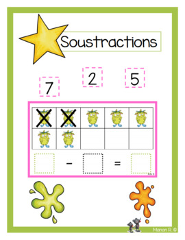 Soustractions monstres
