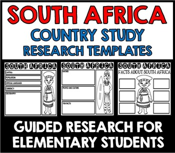 South Africa Country Study Research Project Templates