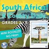 South Africa! A Country Study 3 - 8 Introduction - Mini Booklet Ready to Print