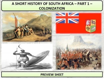 South Africa - A Short History - Part 1 - The Colonial Era