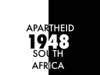 South Africa: Apartheid Infographics and Thematic Notebook
