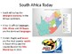 South Africa & Apartheid Power Point Lessons