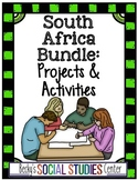 South Africa Activities Bundle: Geography, History, Apartheid & Nelson Mandela