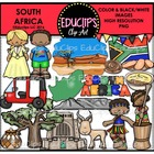 South Africa Clip Art Bundle